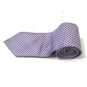 Canali Men's Purple Geometric Tie